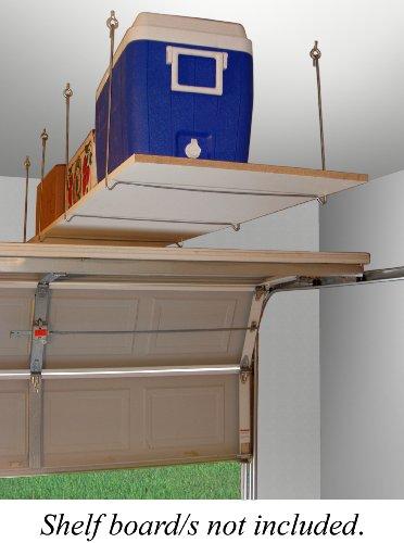 Quick – Shelf Hangers Overhead Ceiling Mount Storage Unit For Sale