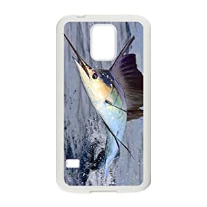 The Jumping Sailfish Hight Quality Plastic Case for Samsung Galaxy S5