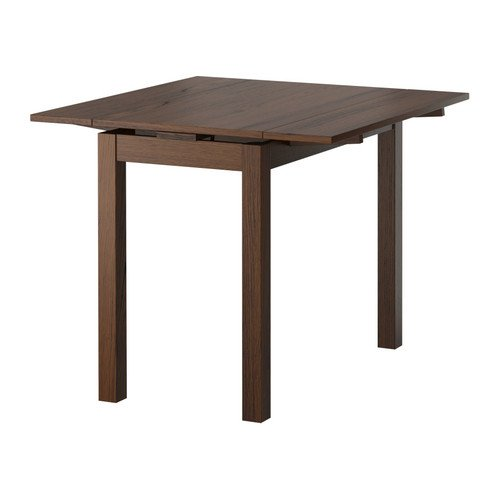Bjursta 5070 Table ExtensibleBrun 90x90 Cm Ikea ARc354jqL