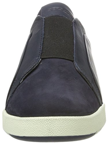 Aerosol Damen Ship In Mix Nubuck Slipper Blau (navy)