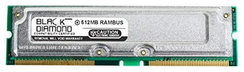 512MB RAM Memory for Dell OptiPlex 200 (RDRAM) 733 SFF & 1.0GHz Black Diamond Memory Module Rambus RDRAM RIMM 184pin PC800 45ns 800MHz Upgrade ()