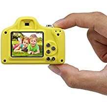 Kids Mini Camera, Bysameyee Portable HD 1080P Digital Children LSR Cam with 1.5 Inch Screen