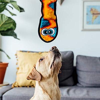 Plush-Puppies-Kyjen-Invincibles-3-Squeak-Snake-Assorted