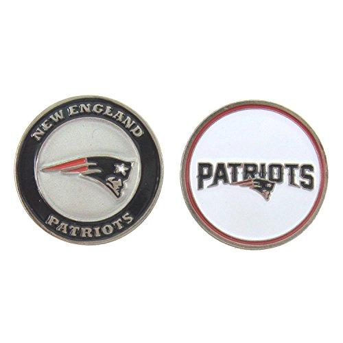 Cap Divot Tool Golf Ball (New England Patriots Double-Sided Golf Ball Marker)