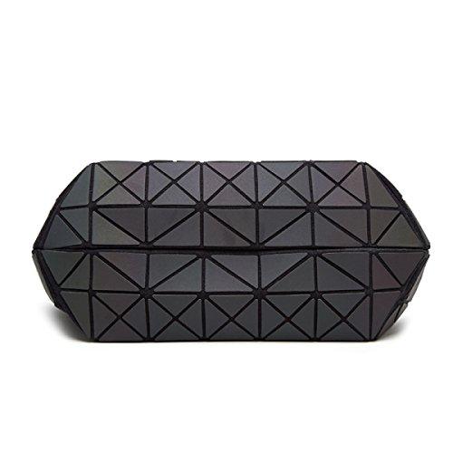Sac Grid De Forme Géométrique Luminant Black Diamant Laser En Et Géométrique Bandoulière Sac Nouveau Ling ZxAHpqdZ