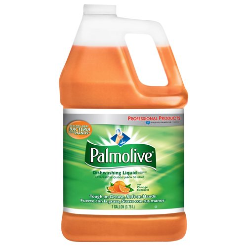 Palmolive Dishwashing Liquid & Hand Soap, Orange, 1 Gal. Bottle (4/Carton) - BMC- CPC04930 by Miller Supply Inc