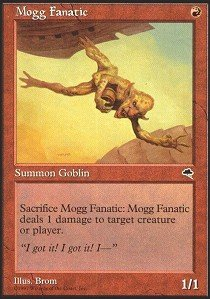 Magic: the Gathering - Mogg Fanatic - Tempest from Magic: The Gathering