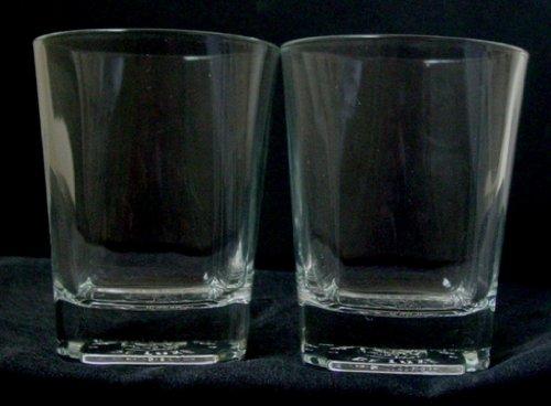 Buchanan's De Luxe Scotch Whiskey Glass   Set of 2 Glasses