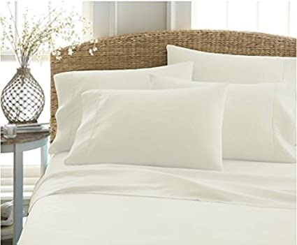 High Quality Authentic Heavy Quality Super Soft Bed Sheets 1200 Thread Count Egyptian  Cotton 4