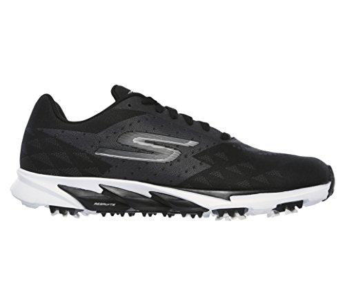 Skechers Mens Outlet (Skechers Performance Men's Go Golf Blade 2 Golf Shoe, Black/White, 10.5 M US)