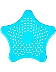 AGFA Silicone Star Shaped Sink Strainer, 16 x 14 cm - Blue
