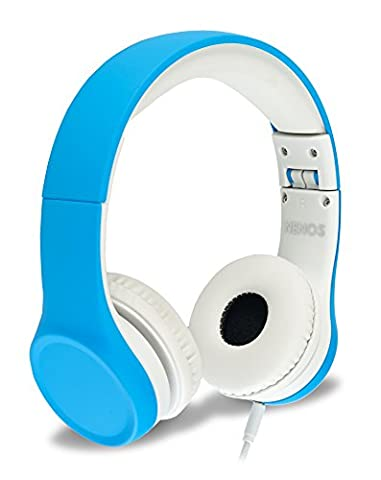 Nenos Kids Headphones Children Headphones Kids Headset Children's Headphones Over Ear Headphones Kids Headphones Computer Volume Limited Headphones Connection Foldable (Bluetooth Aux Adapter Beats)