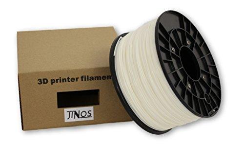 Fuser Power Supply (3D Printer Filament, 1.75mm High Precision PLA Plastic, 1.0kg (2.2 lbs) Spool, Dimensional Accuracy +/- 0.03mm, Polar White)