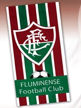 (Fluminense Football Club 01, Brazilian Soccer Team,Velour Beach Towel, 30