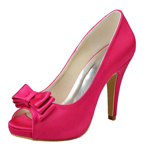 Kevin Fashion - Zapatos de boda fashion mujer Morado - Peach