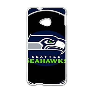 2015 Bestselling seahawks nail designs Phone Case for HTC M7