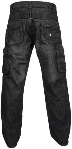Newfacelook Denim Motorradhose Rustungen Motorrad Hose Arbeitshosen Jeans Fracht Verstärkt Durch Aramid Schutzauskleidung Auto