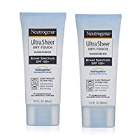 Dry-Touch Water Resistant and Non-Greasy Sunscreen Lotion with Broad Spectrum SPF 100+ (3 fl. Oz - 2 Pack)