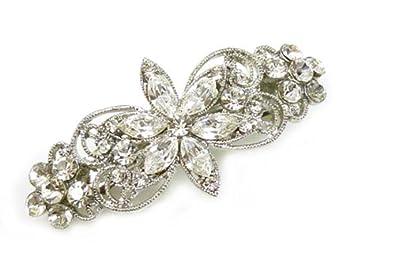 Accessori Da Bagno Con Swarovski : Swarovski crystal daisy fiore fermaglio per capelli da sposa