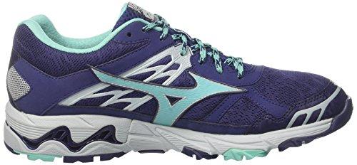 33 Laufschuhe Mujin Mehrfarbig Patriotblue Mizuno Tx Blau WOS 4 Wave G Turquoise Damen Pearlblue 0qqwapOZ