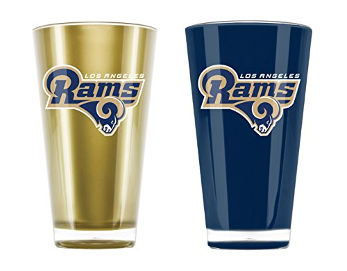 NFL St. Louis Rams 20-Ounce Insulated Tumbler - 2 Pack (Football Rams)