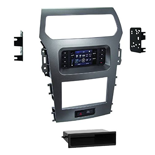 Metra 99-5847CH 1or 2DIN Dash Kit for Ford Explorer 2011-2015 (with factory 4.2