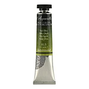 Sennelier L'Aquarelle French Watercolor, 21ml Tube, S1 Olive Green