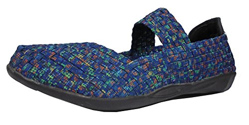 Bernie Mev Women's Cuddly Mary Jane Flat Ocean cheap browse newest online wide range of buy cheap amazon evcTbubCp