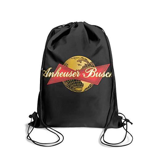 GESISAHU Anheuser Busch InBev Beers Men Women Bulk Drawstring Backpack Popular Popular Traveling Backpack Patterned Cycling Sports Bag Personalized Shopping Bag ()