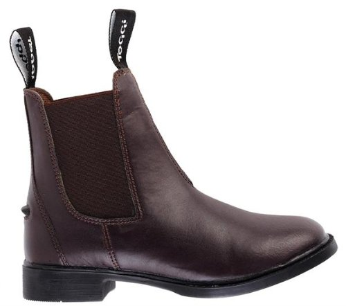 Toggi Brampton l'enfant s Boots d'équitation à enfiler-Marron-Taille 9 (UE : 28)