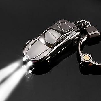 Amazon Com Key Chain Flashlight Jobon Zinc Alloy Car
