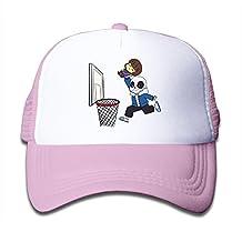 Undertale Sans Get Dunked On Girls Snapback Mesh Classic Flat Hat Black