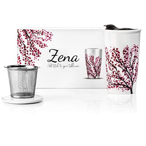 Ceramic Travel Tea Mug Plastic product image