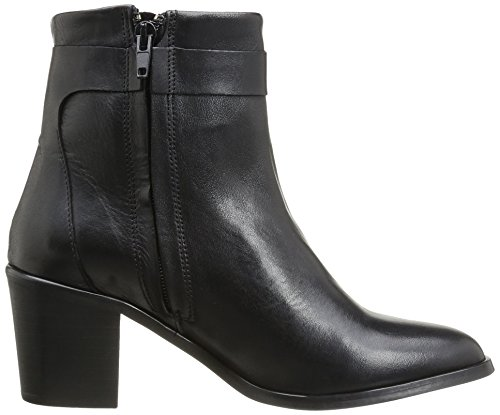 Pieces Zipper Umiko Mujer Botas Boot Black Leather pwpqrE6