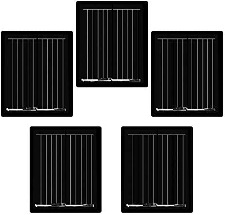 D DOLITY 5pcs Mini DIY Solarpanel Solarmodul Solarzelle Polykristalline für Handy Spielzeug