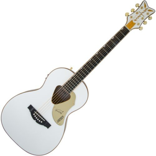 Gretsch Guitars G5021WPE Rancher Penguin Parlor Acoustic/Electric White ()