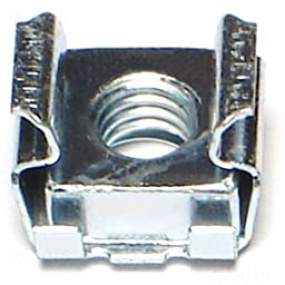 6mm x 1.626 - 2.667 Cage Nut (10 pieces)