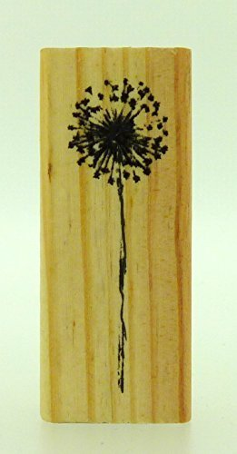 East of India Rubber Craft Design Stamp Dandelion by Coingallery