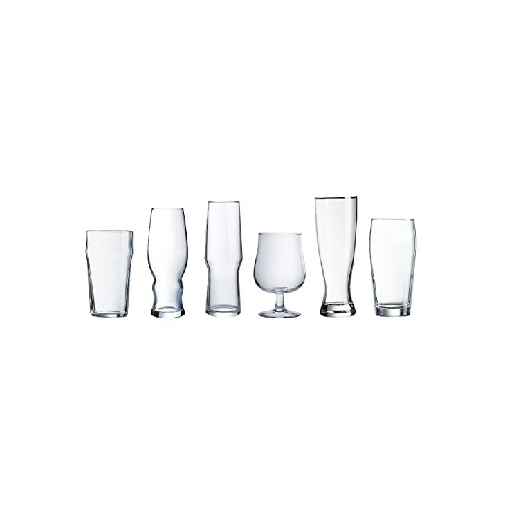 Luminarc Assorted Glasses Set of 4 Clear