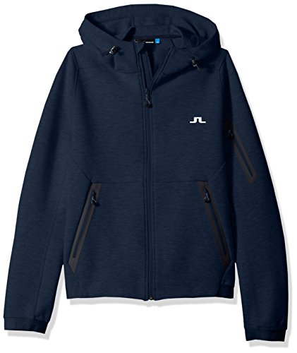 Used, J.Lindeberg Men's Athletic Tech Hoodie, JL Navy, S for sale  Delivered anywhere in USA