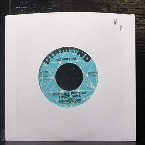 (Ronnie Dove 45 RPM One kiss for old times' sake / No greater love)