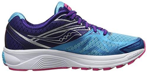de Saucony Chaussures 9 Running Navy Blue Pink Bleu Ride Entrainement Femme aqHafwOWBr