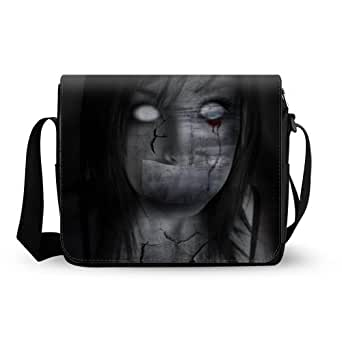 Stylish Dark Gothic Oxford Fabric Messenger Bag,Shoulder Bag