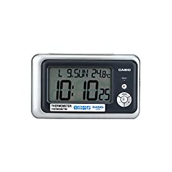 CASIO DQ748-8df Travel Alarm Clock with Thermometer