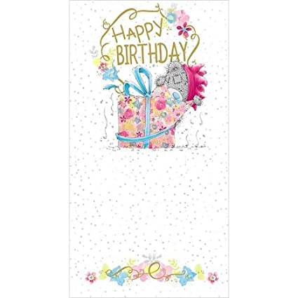 Me To You Feliz Cumpleaños gigante me presente para usted ...
