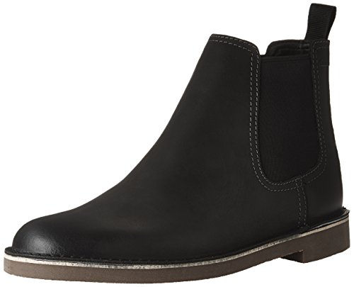 Clarks Men's Bushacre Hill Boot, black nubuck, 10 M US