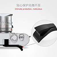 JFOTO M10b-G Thumbs Up Grip Designed for Leica M10 better balance & grip convenience, Camera Black Metal Hand Grip, Newest Version securely the camera
