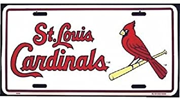 st louis cardinals mlb baseball aluminum auto license plate car truck tag sign