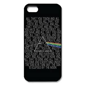 Pattern Pink Floyd plástico duro caso para iPhone 5/5S