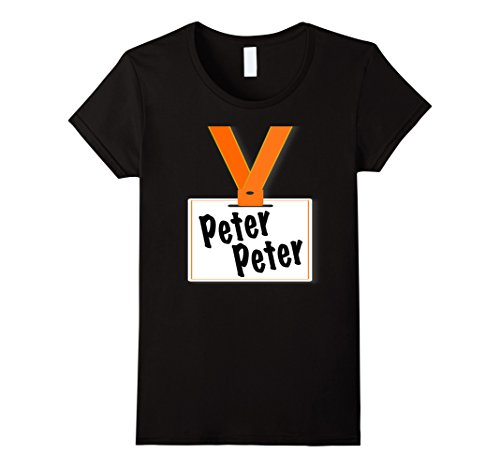 Good Husband And Wife Halloween Costumes - Womens Peter Peter Pumpkin Eater Halloween Couples Costume T Shirt XL Black